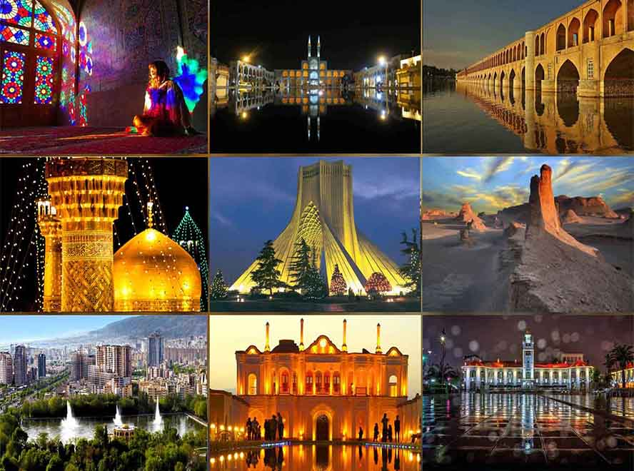 cities iran tour: What are the most important tourist cities in Iran?