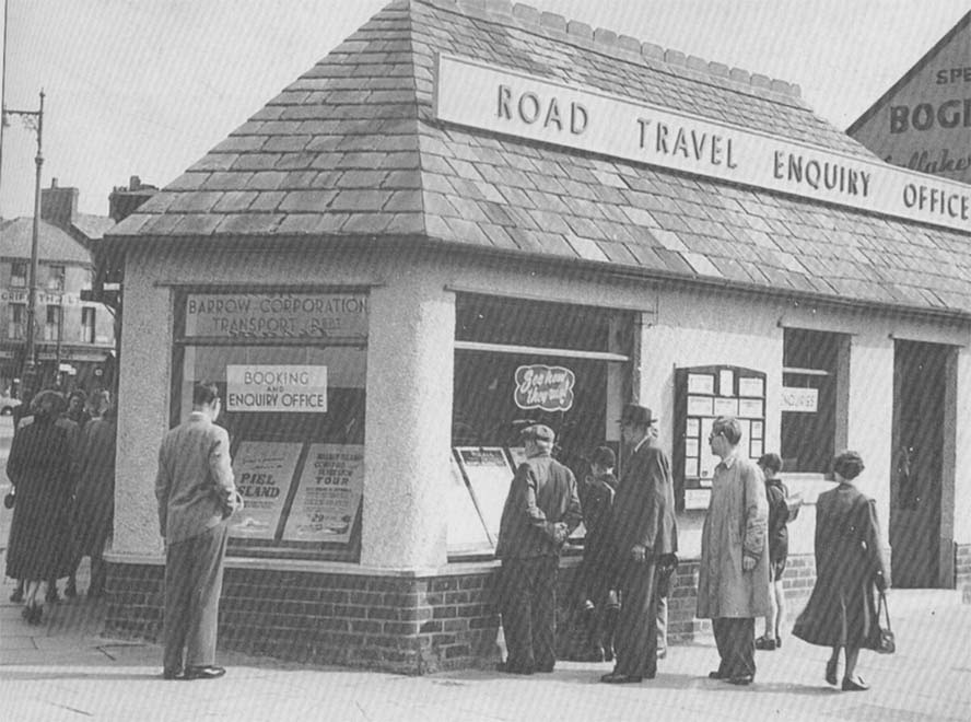 first travel agencies