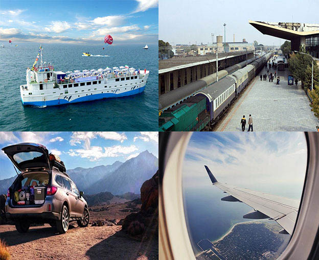 How to get to kish island?