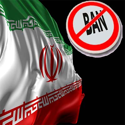 objects are forbidden iran
