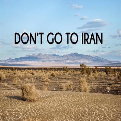do not travel to iran