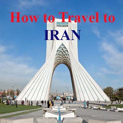 how to travel to iran