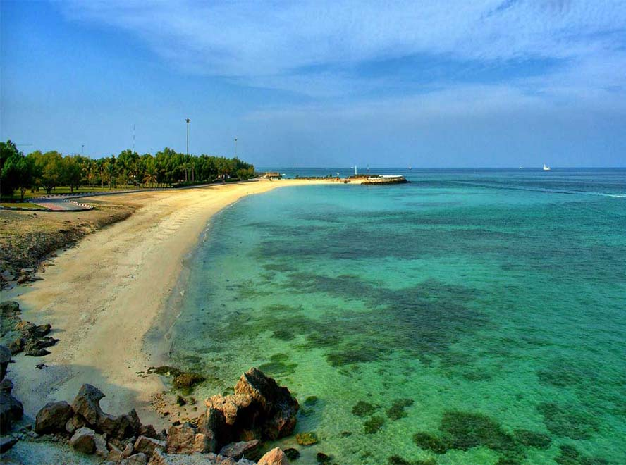 Iran beaches2019: Kish Island Coral Beach