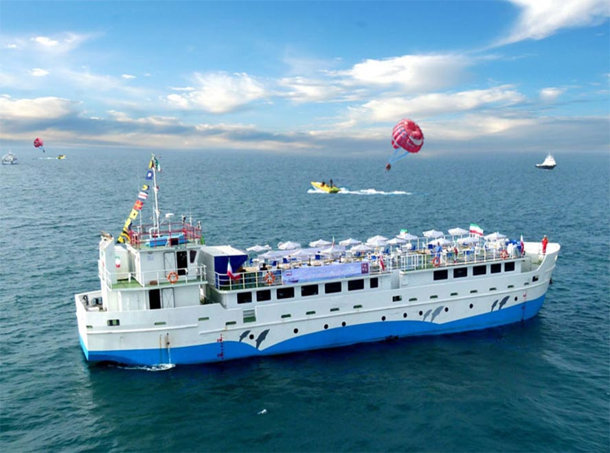 how to get to kish island: by ship